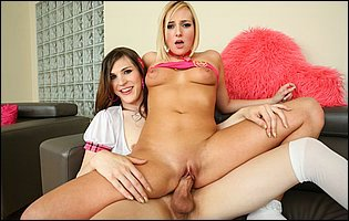 Stefani Special is having a hot sex with Kate England