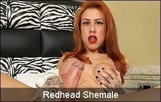 Redhead Shemale